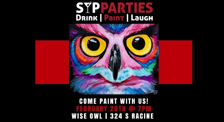 SIP & PAINT NIGHT - Owl Painting