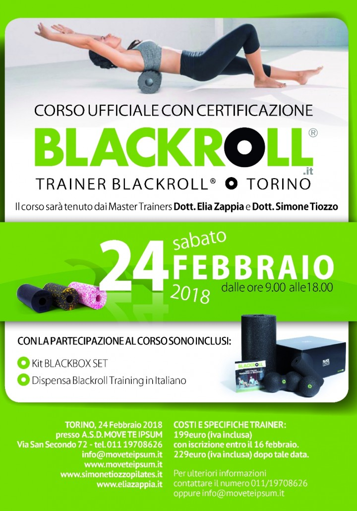 Corso Ufficiale con Certificazione Trainer BL