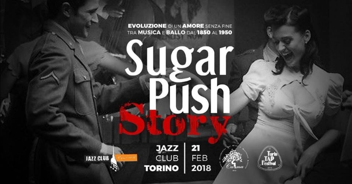 Sugar Push Story: Vintage Ballroom night at J