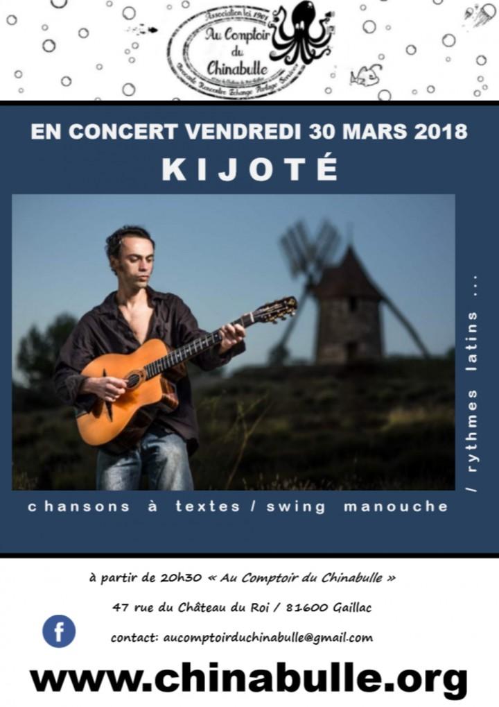 """Concert """"Kijoté"""" swing manouche"""