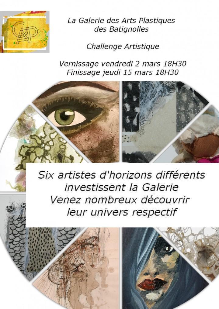 Challenge Artistique Galerie des Arts Plastiq