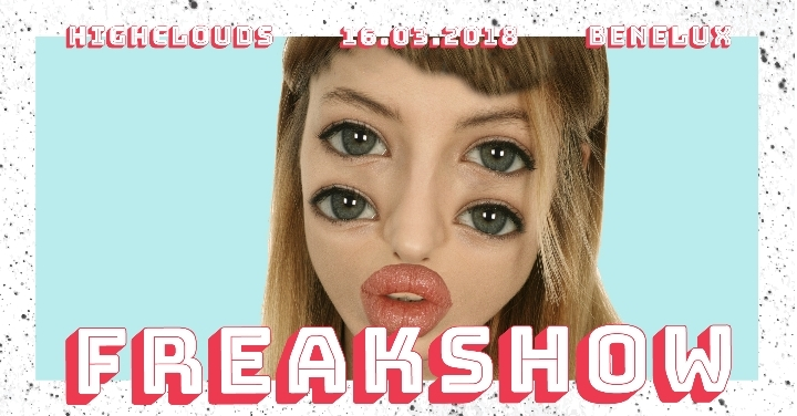 HighClouds present Freakshow: BATHS x JINKA x