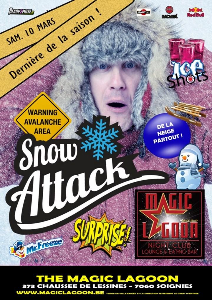 Snow Attack Party - La dernière de la saison