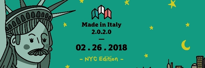 Made in Italy 2020 NYC