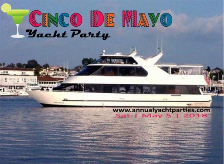 Cinco de May Yacht Party - Day