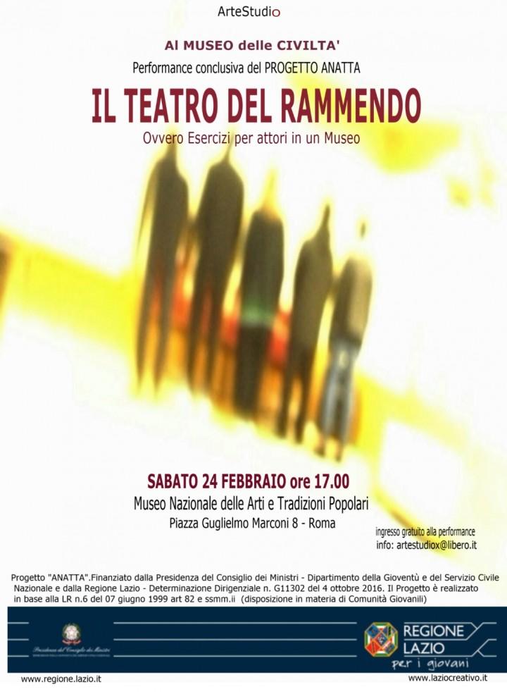Il Teatro del Rammendo al Museo delle Civiltà