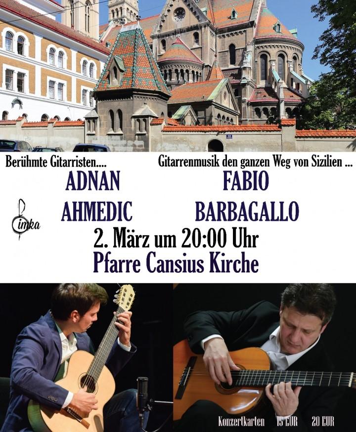 Adnan Ahmedic Fabio Barbagallo Guitar Duo