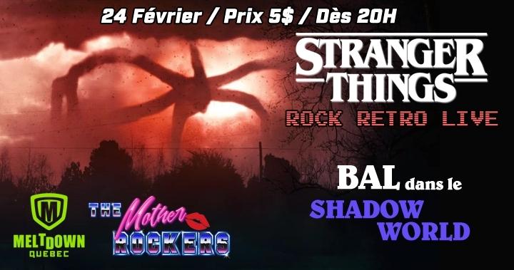 Stranger Things : Rock Retro live avec The Mo