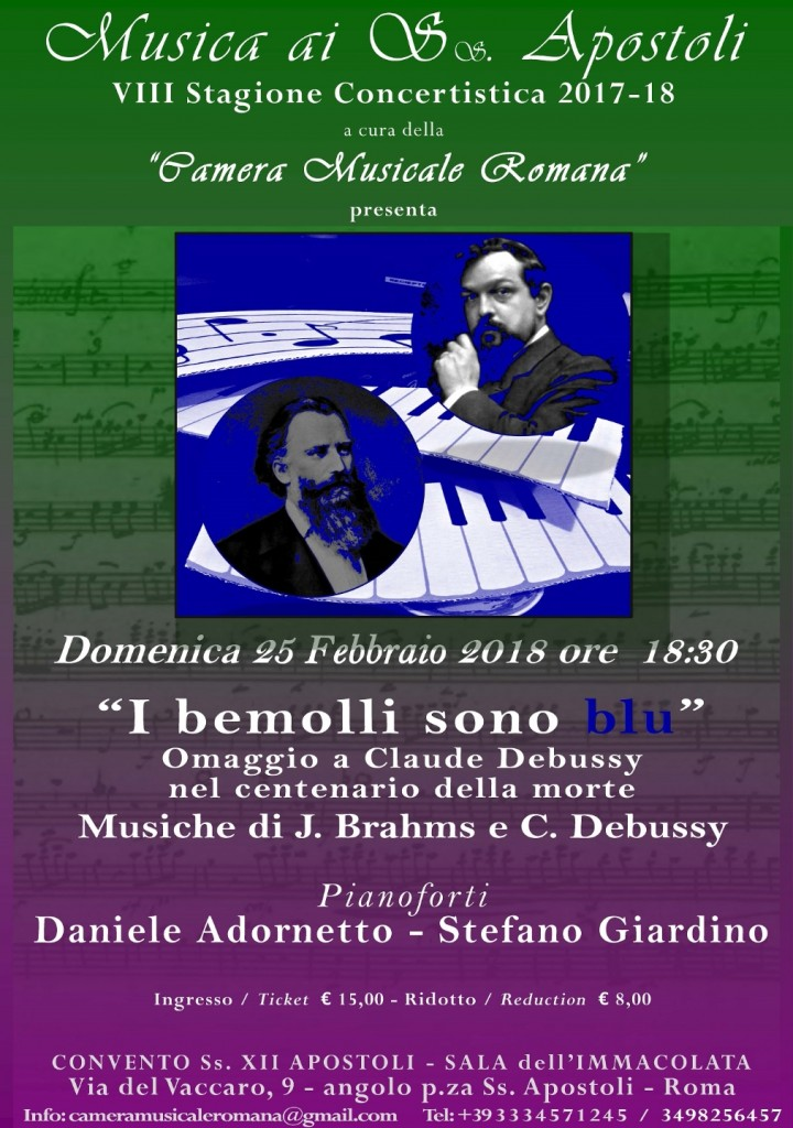 """""""I bemolli sono blu"""" Concerto in omaggio di C"""