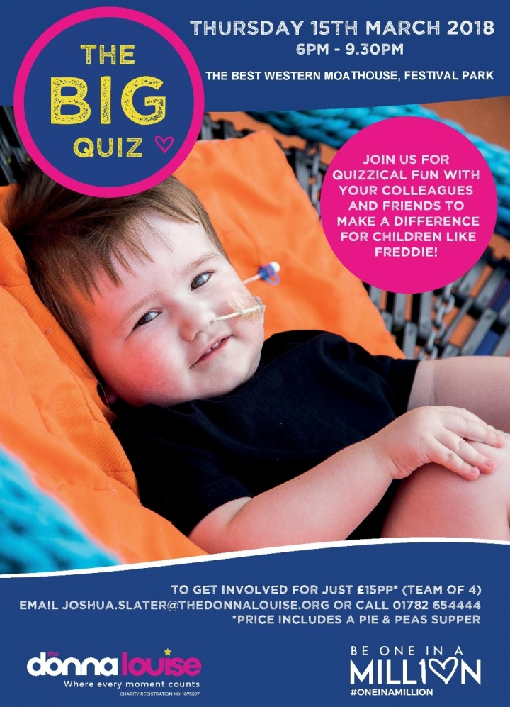 The BIG Quiz in aid of The Donna Louise