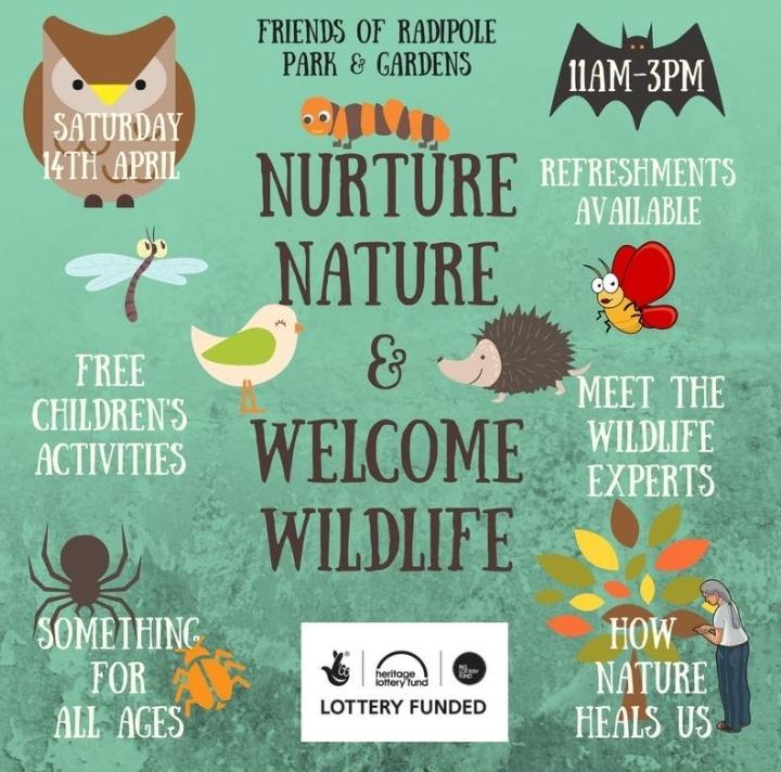 NURTURE NATURE AND WELCOME WILDLIFE