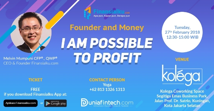 Founder and Money: I AM POSSIBLE TO PRO