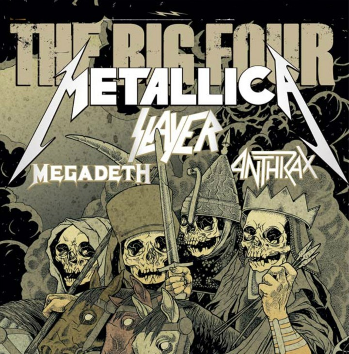 Especial The Big Four (Metallica, Slayer, Meg