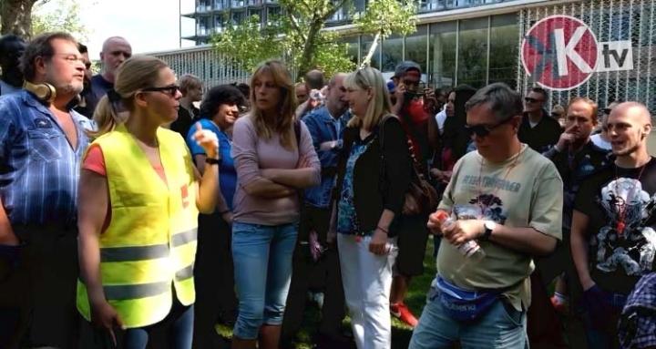 Kämpfe in Krankenhäusern in Hamburg, Bremen u