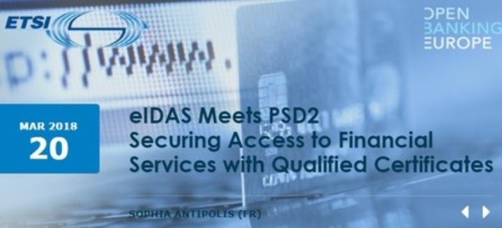 eIDAS meets PSD2