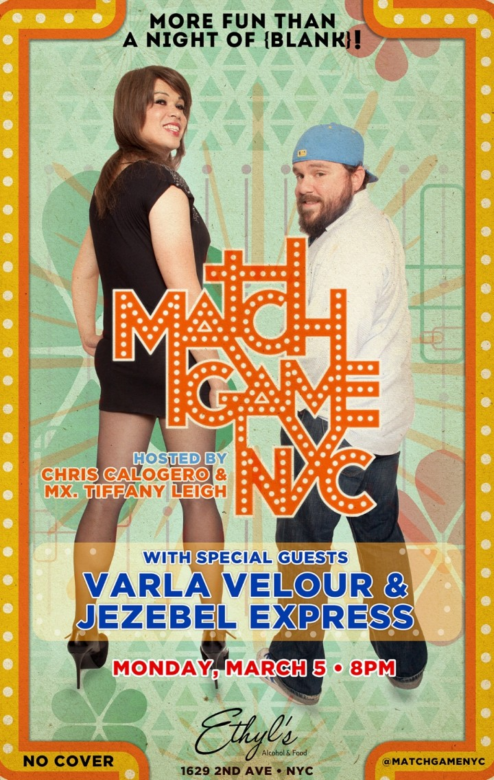 Match Game 3/5 at Ethyl's w/Varla Velour and