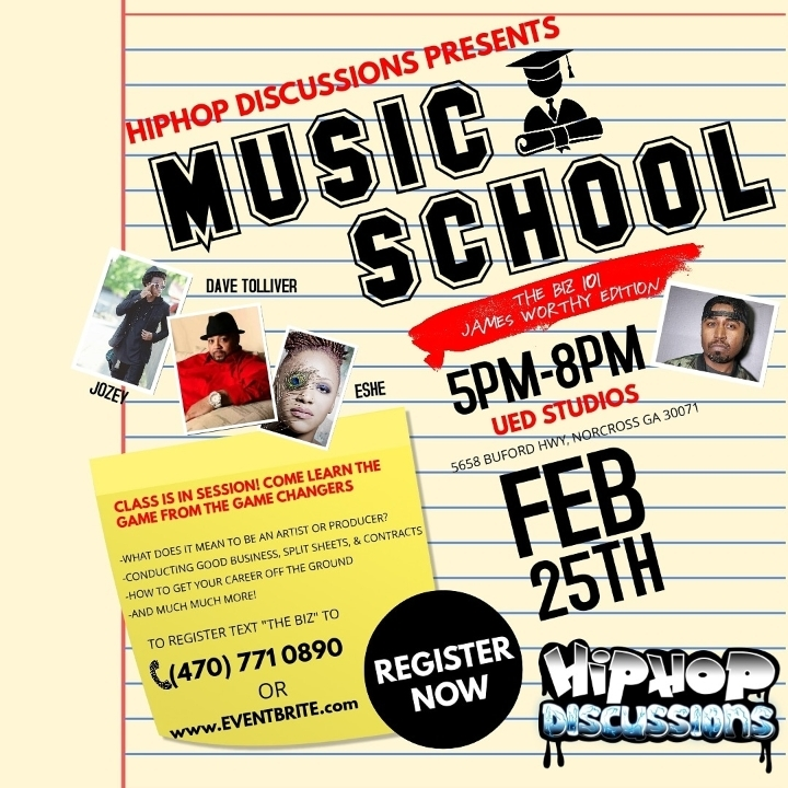 Music School - The Biz 101 James Worthy Editi