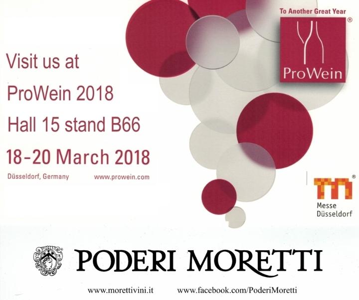 Poderi Moretti exibitor at Prowein 2018