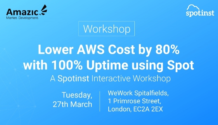 Lower AWS Cost by 80% with 100% Uptime using