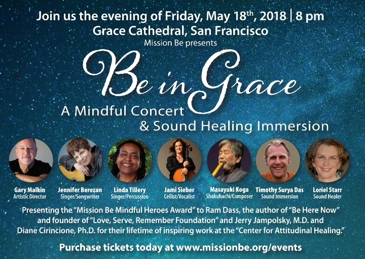 Be in Grace- A Mindful Music Concert & Sound Healing Experience