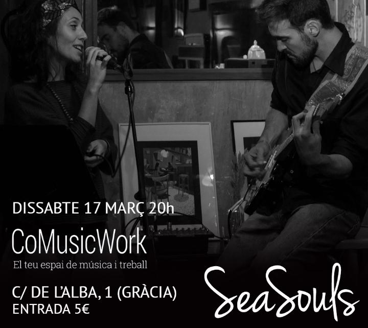 SeaSouls en concert a CoMusicWork