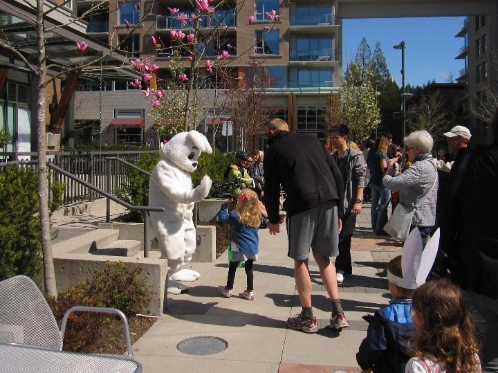Easter Celebration at Wesbrook Village
