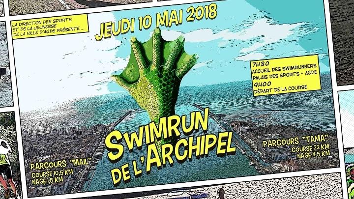 Swimrun de l'Archipel Agde Le Cap d'Agde