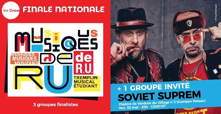 Finale Nationale Musiques de R.U. + Soviet Suprem