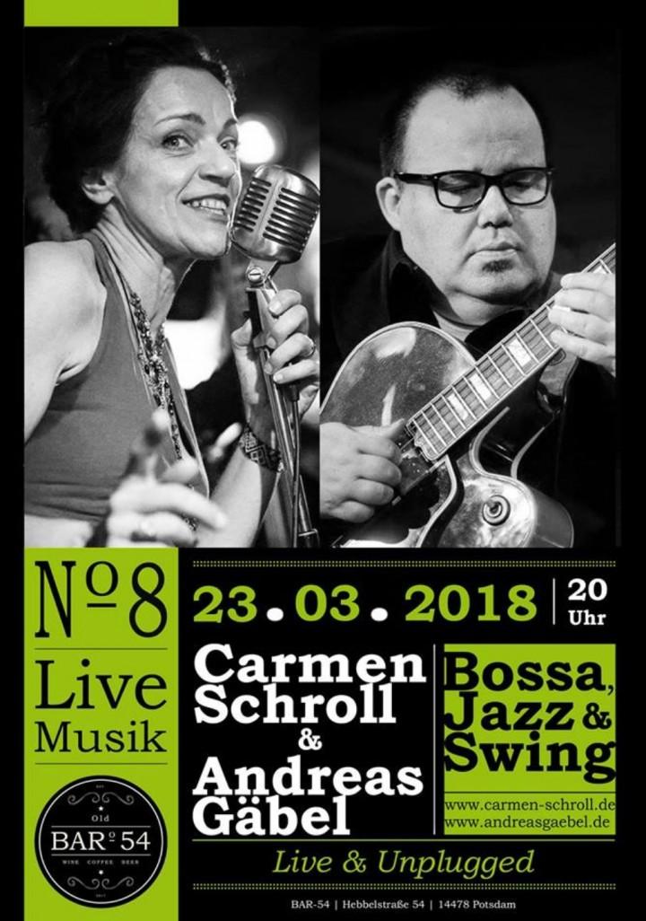 Vocal Jazz Duo Carmen Schroll & Andreas Gäbel