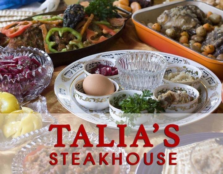 Passover Seders   NYC Kosher Restaurants Manhattan   Talia's