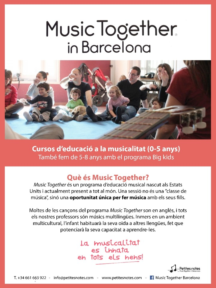 CLASSE DE PROVA: MUSIC TOGETHER
