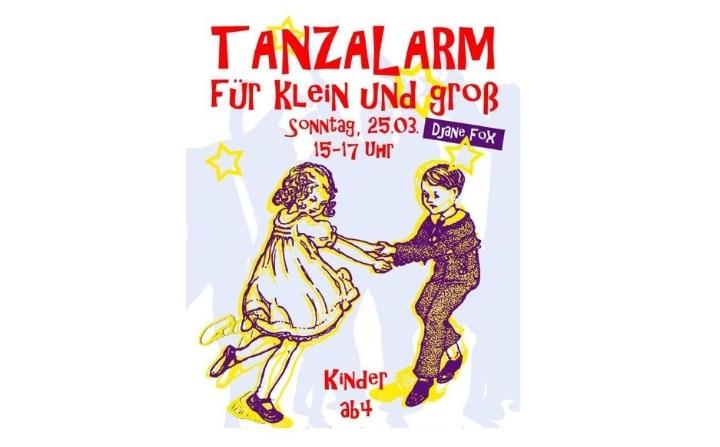 """Eltern – Kind - Disco """"TANZALARM für Klein un"""