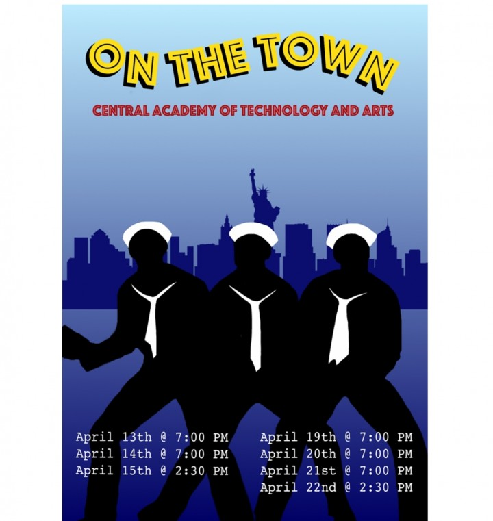 Spring Musical 2018: `On The Town` Central Academy Of Technology & Arts HS