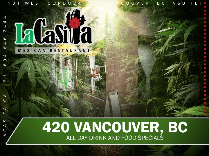 420 Lunch, Dinner and Drink Specials in Gasto