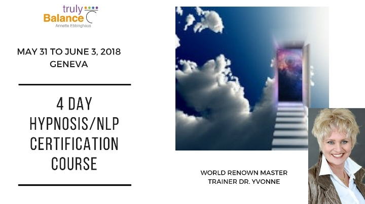 4 Day Hypnosis/NLP Certification Course