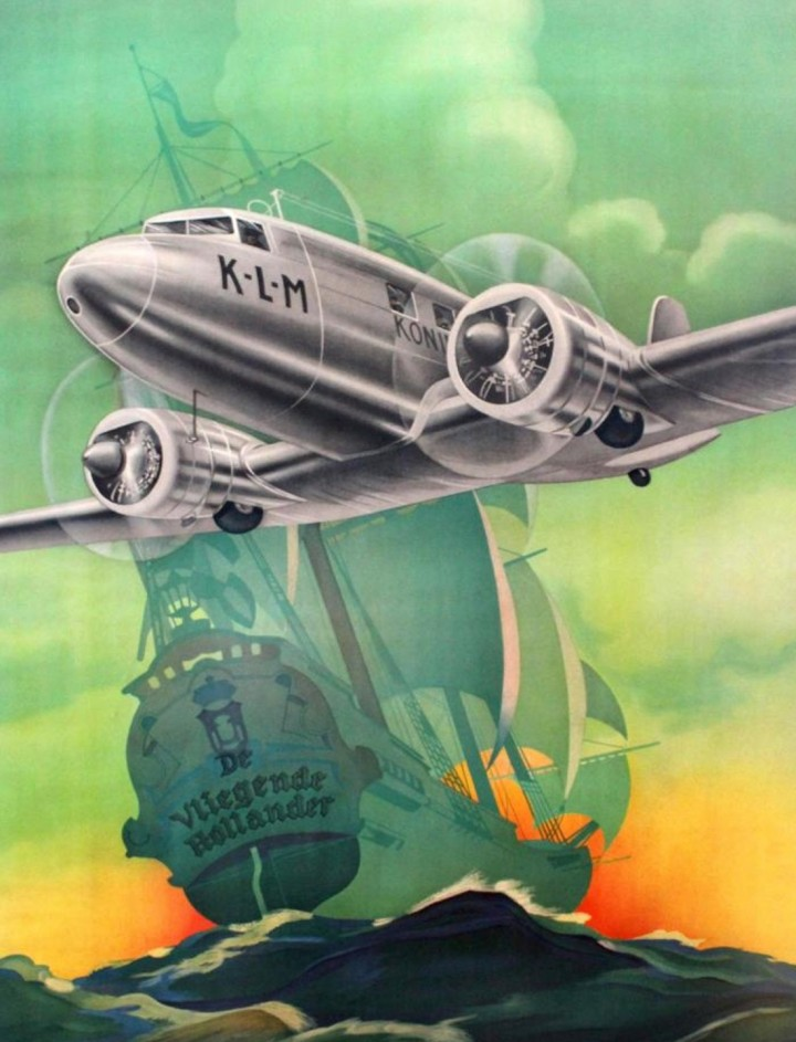 Vintage Poster Auction Featuring Aviation Pos