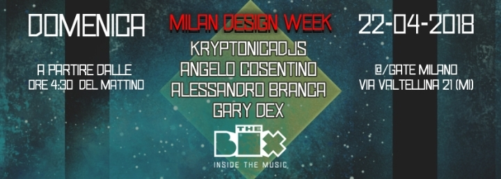 The BOX in AFTER MILAN Design WEEK 22/04 from