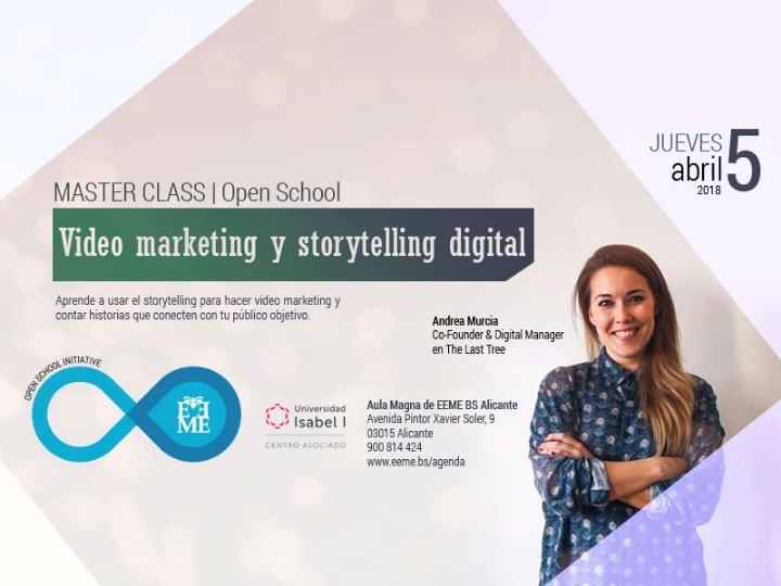 Master Class: Video Marketing y Storytelling