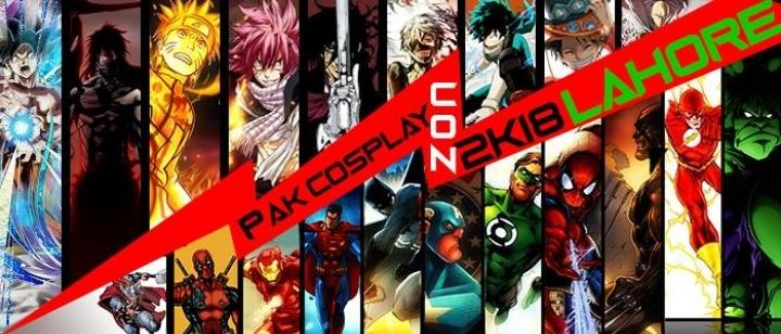 Pak Cosplay Con 2k18 (Lahore)