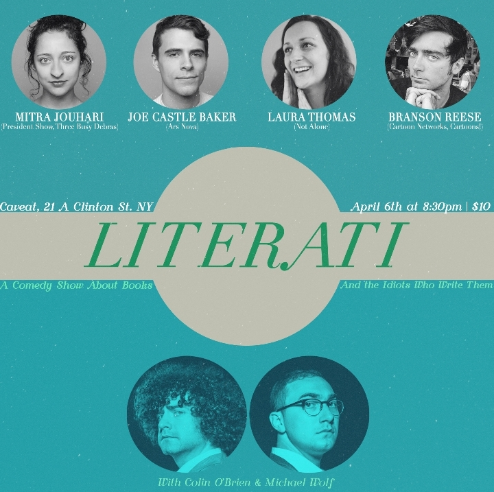 Literati: A Comedy Show About Books And The I