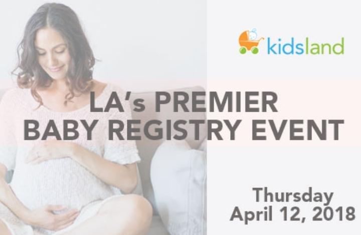 LA's Premier Baby Registry Event hosted by Ki