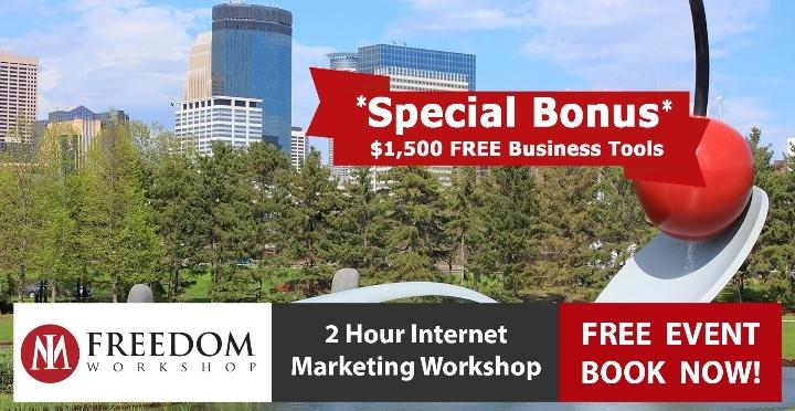 grab free 2 hour internet marketing online biz workshop tickets for