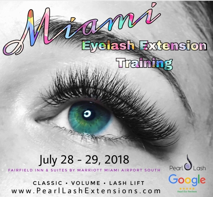 eyelash extension training - 28 jul 2018