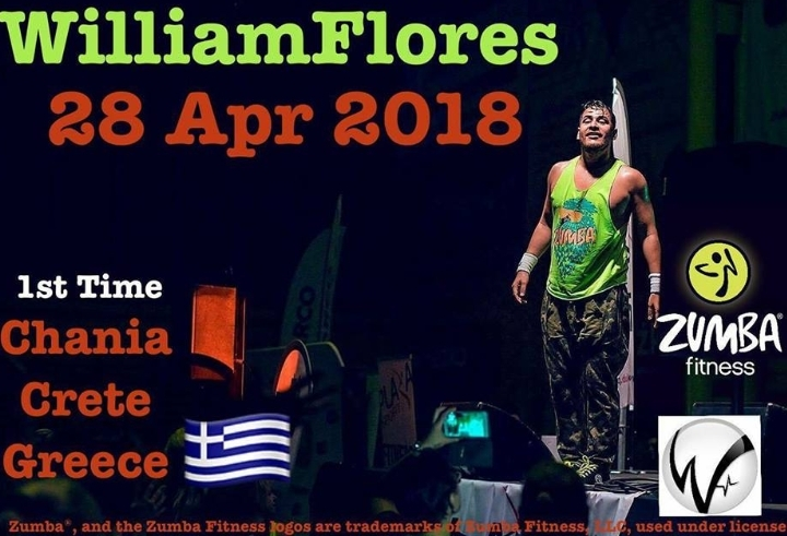 Zumba® Masterclass with International presenter William Flores