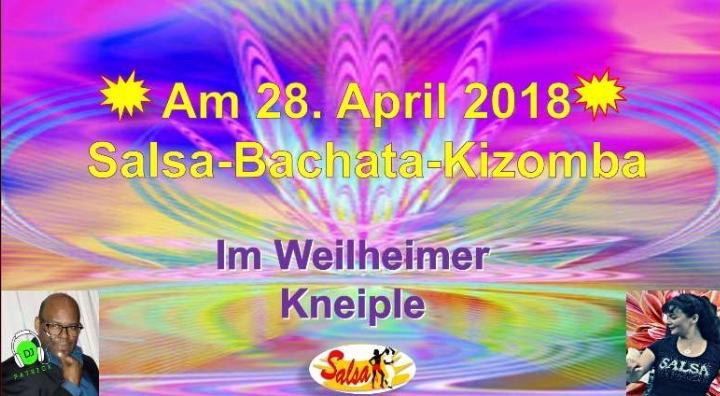 Salsa Party im Weilheimer Kneiple