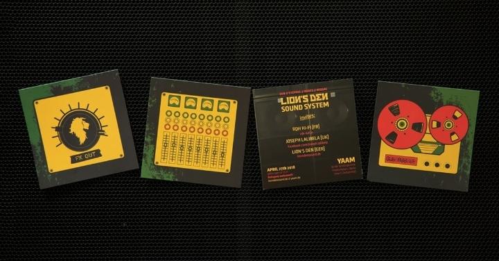 Lion's Den Sound System invites: RDH Hi-Fi &