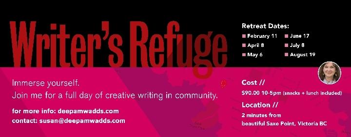 Writers' Refuge Day-long Writing Workshop