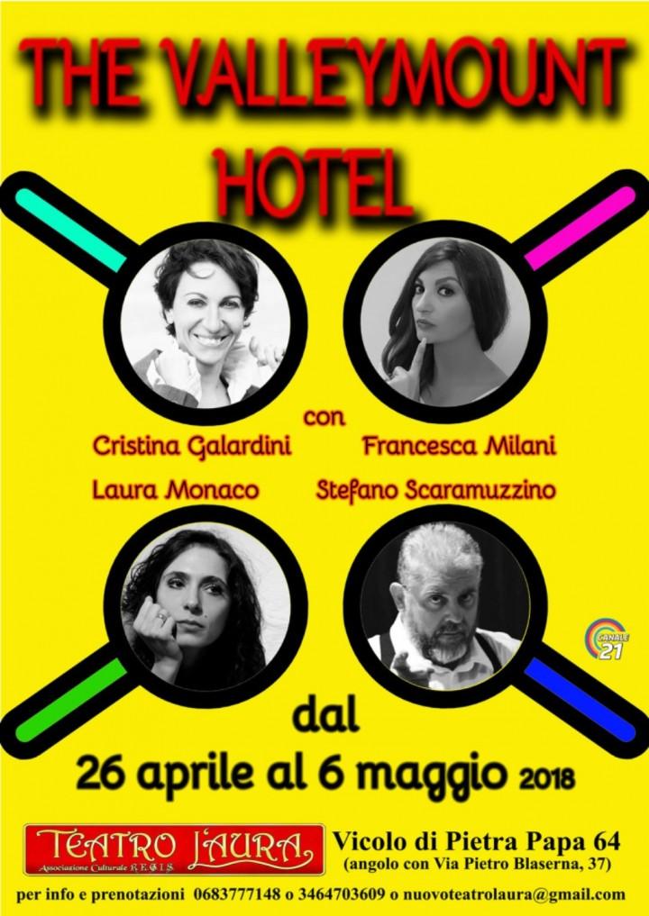 Comunicato stampa- Teatro L'Aura- dal 26 apri