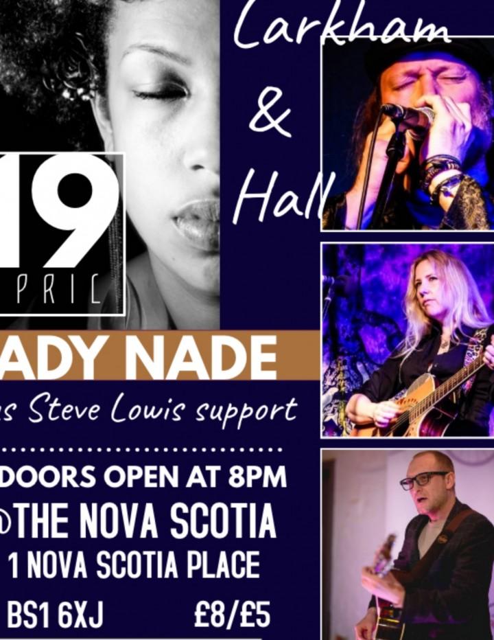The Happening presents Lady Nade/Steve Lowis