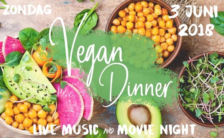 Vegan Dinner with Live Music & Movie